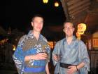 At Edo Onsen (hot spring baths)
